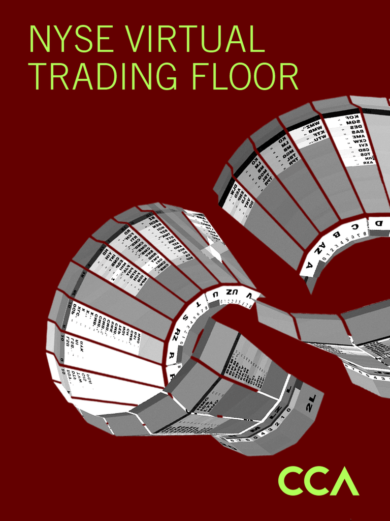 Asymptote Architecture - NYSE Virtual Trading Floor