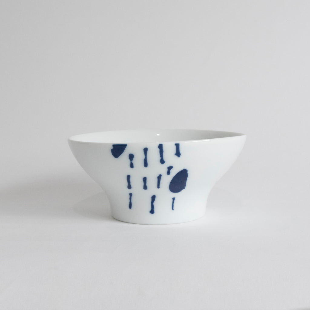 (PREORDER) Singapore Blue | Supermama and TOUCH SpecialCrafts White Bowl