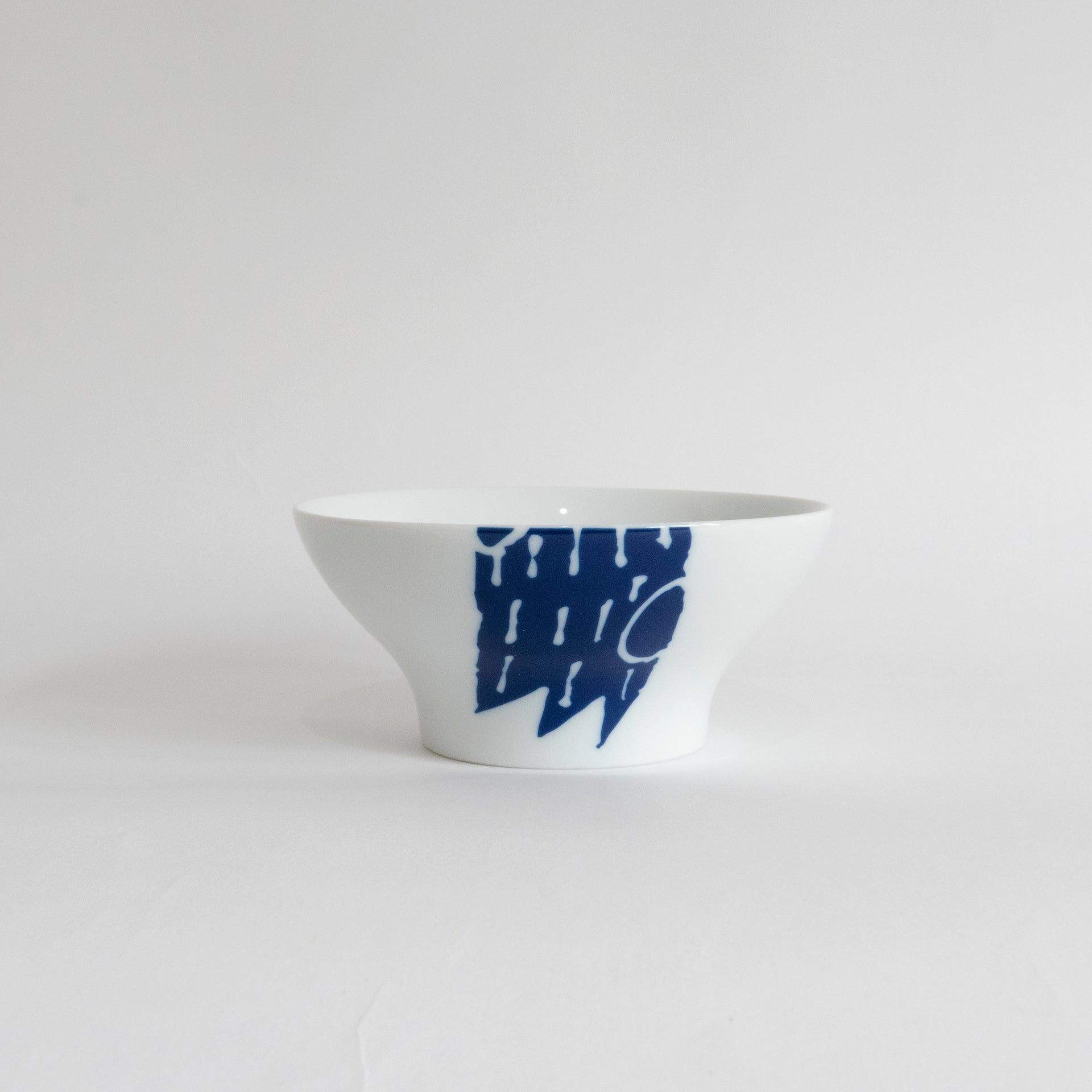Supermama and TOUCH SpecialCrafts <br> Rice Bowl (Blue) </br>