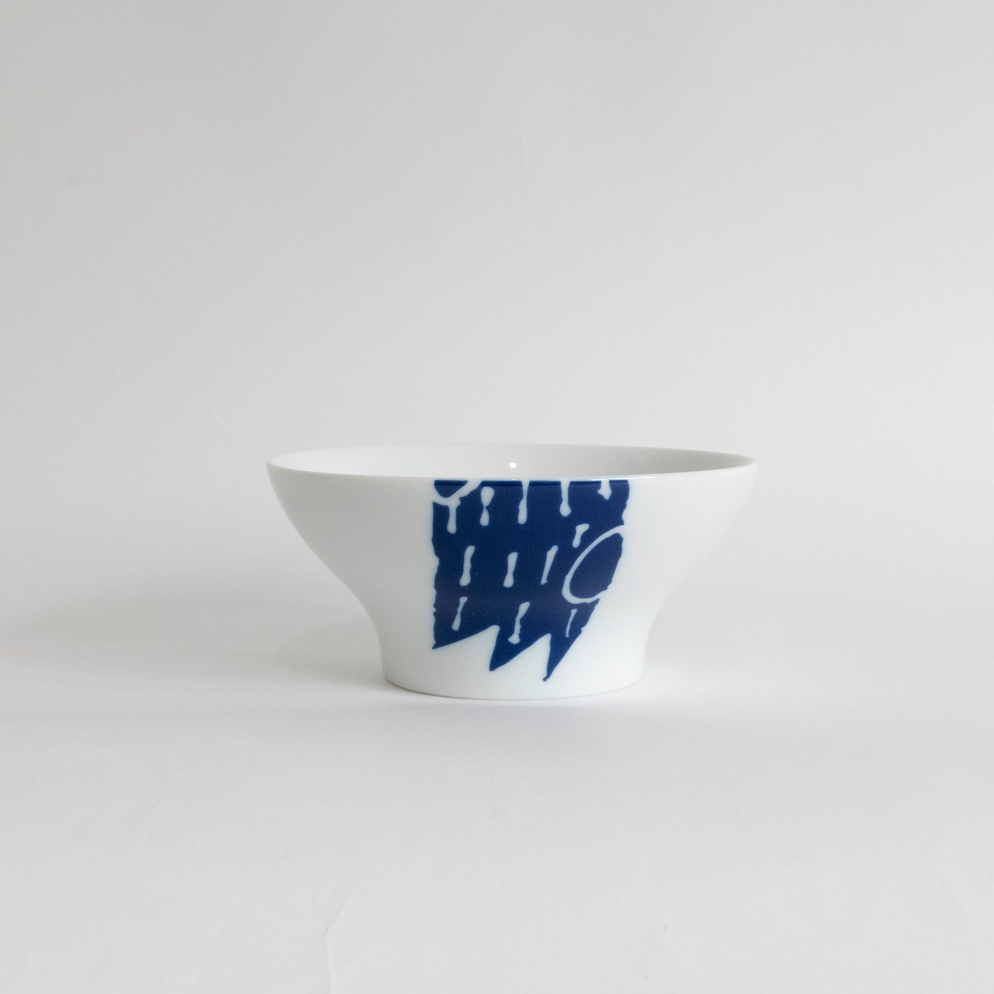 (PREORDER) Singapore Blue | Supermama and TOUCH SpecialCrafts Blue Bowl