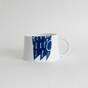 Supermama and TOUCH SpecialCrafts <br> Mug (Blue) </br>