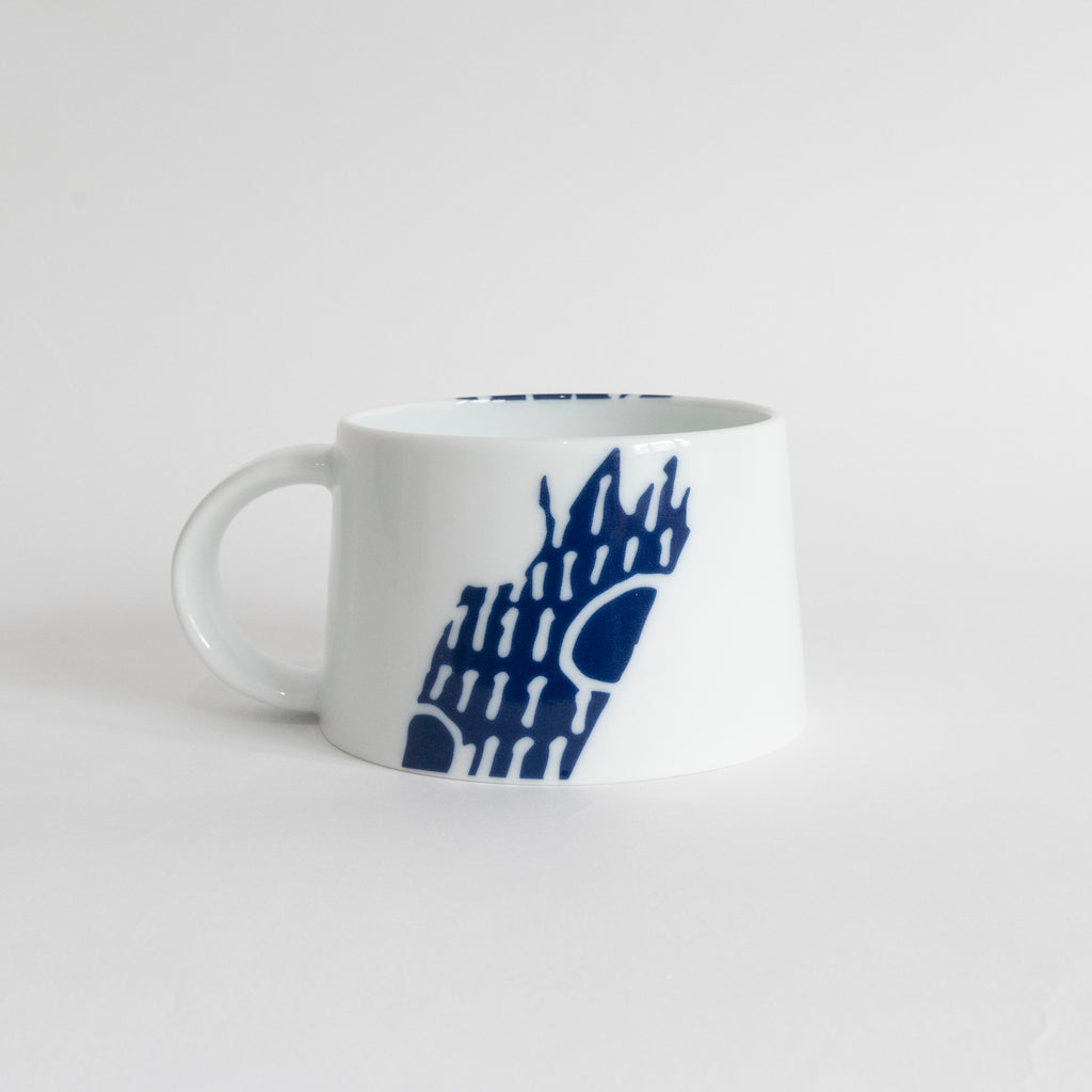 (PREORDER) Singapore Blue | Supermama and TOUCH SpecialCrafts Blue Mug