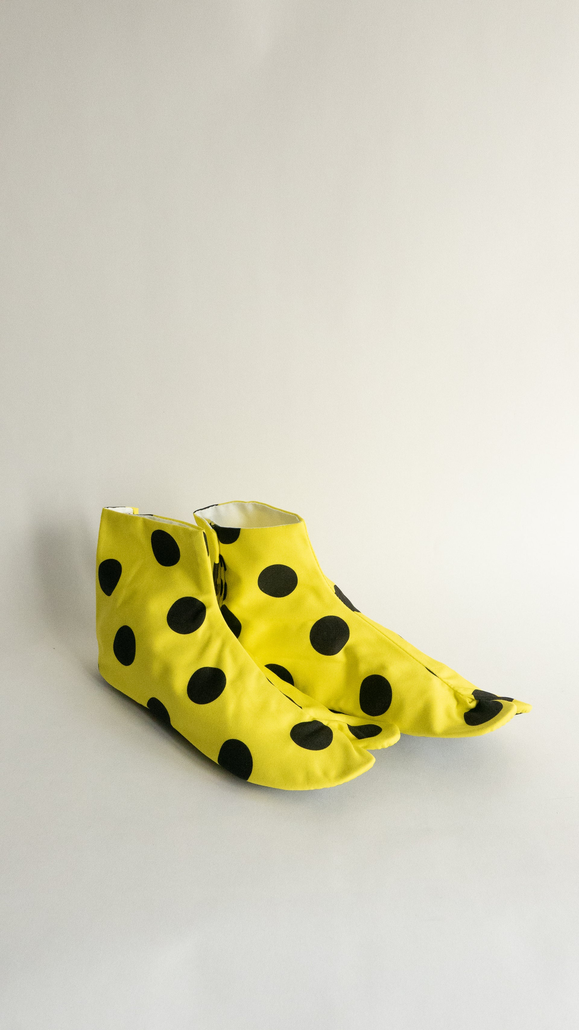 Yellow Tabi Shoes