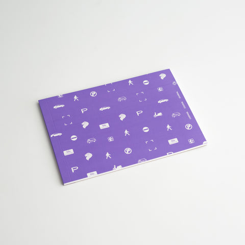 Carpark Coupon Journal (Neon Purple)