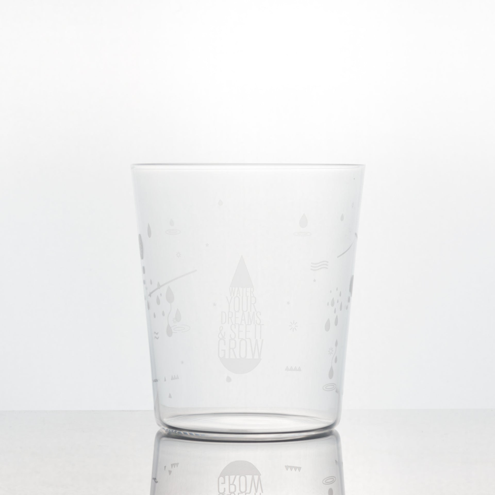 Aspects <br> The Singapore Dream Glass Cup </br>