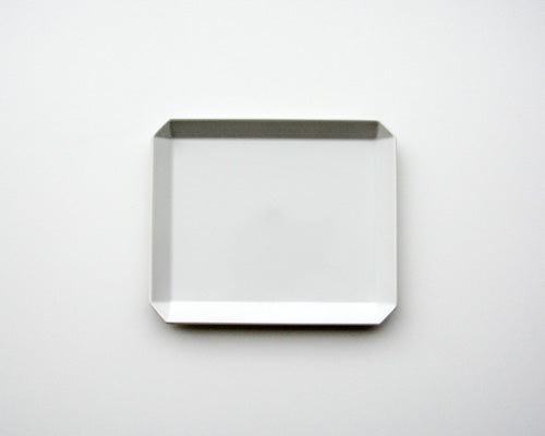 <br>1616 Arita</br> Square Plate Grey 165