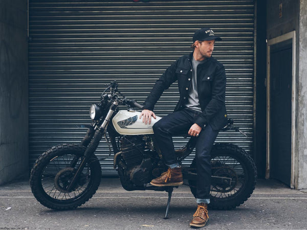 RESISTANT DEMIN Bike Shed Motorcycle Co