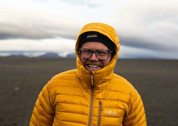 Danny Bent in Iceland
