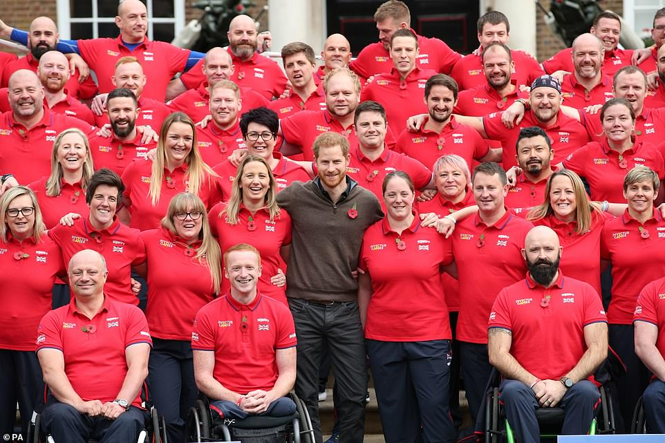 Invictus Games 2020 UK team