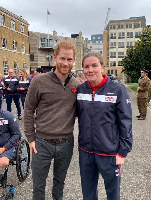 Prince Harry and Vicki Ross