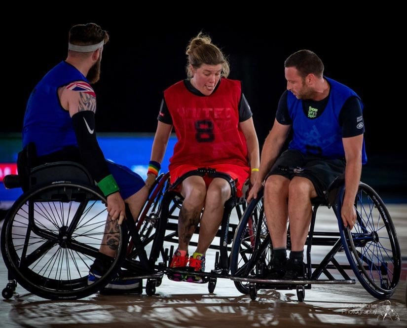 Wheelchair Rugby or Murder Ball