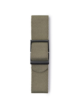 STR-N08: Grey-Green Webbing Strap