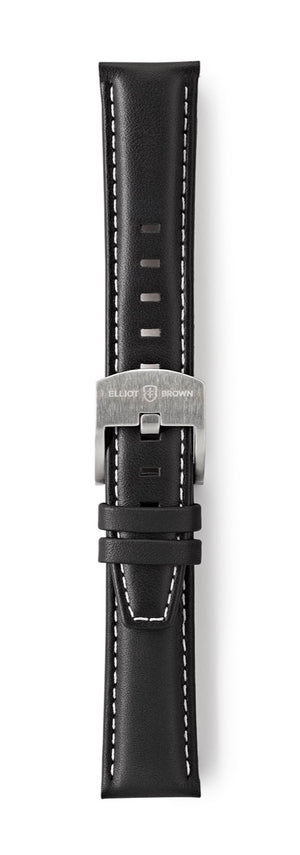 STL-L58: Black Leather Strap for Kimmeridge