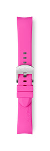 STL-R28: Magenta Rubber Strap for Kimmeridge