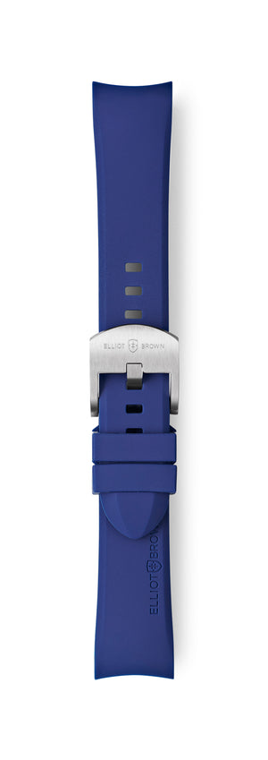 STL-R30: Dark Blue Rubber Strap for Kimmeridge