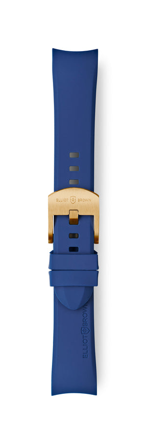 STL-R33: Dark Blue Rubber Strap for Kimmeridge