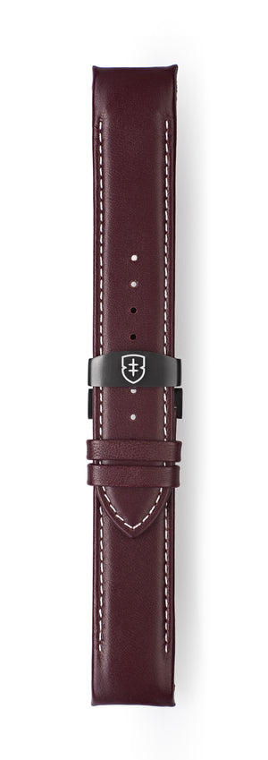 STR-L05: Smooth Oxblood Leather Deployant