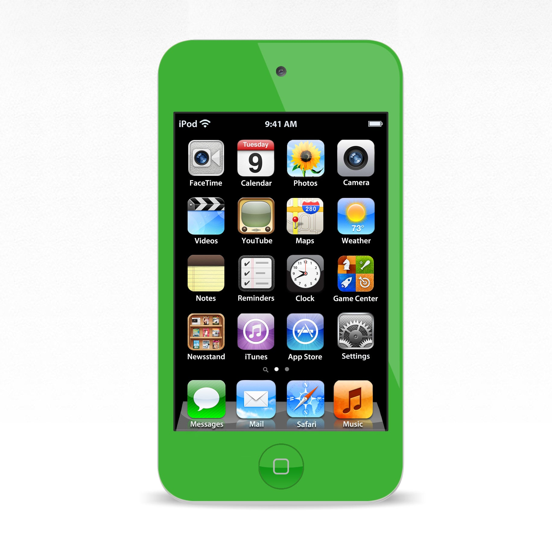 iPod Touch 4 Green Colour Conversion