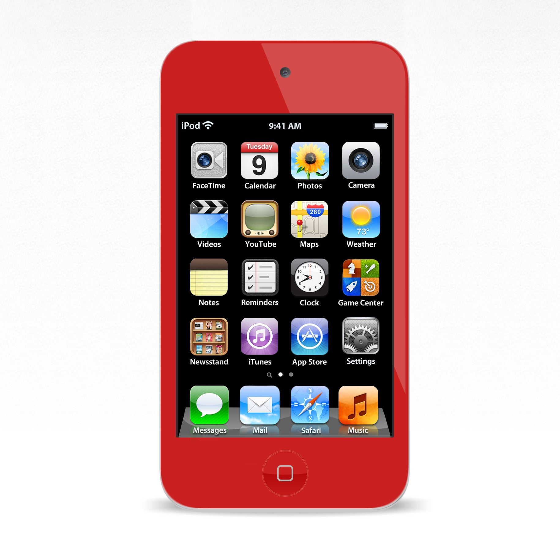 iPod Touch 4 Red Colour Conversion
