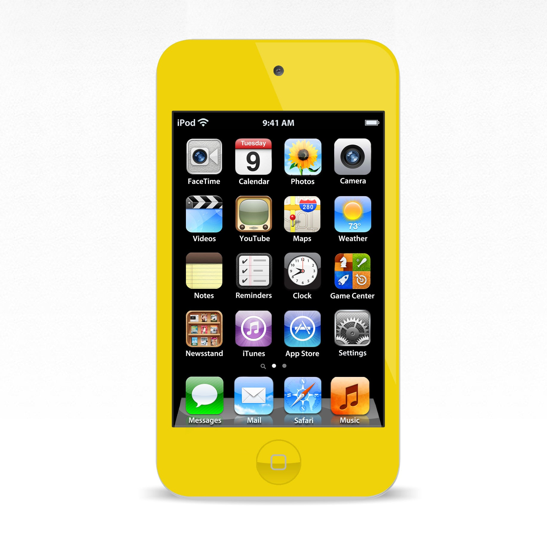 iPod Touch 4 Yellow Colour Conversion