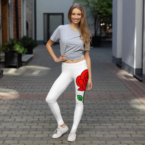 Leggings mit Rose