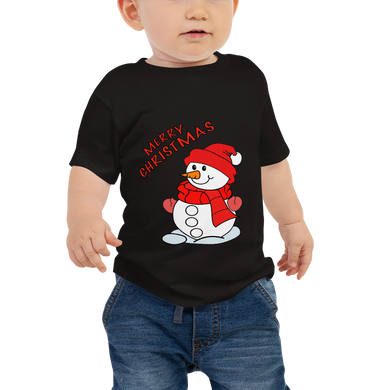 Merry Christmas Baby Jersey Short Sleeve Tee