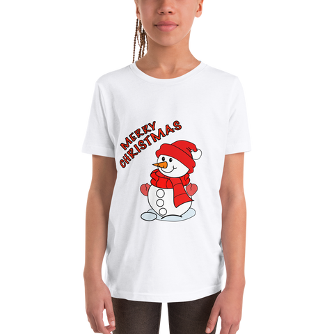 Merry Christmas Youth Short Sleeve T-Shirt