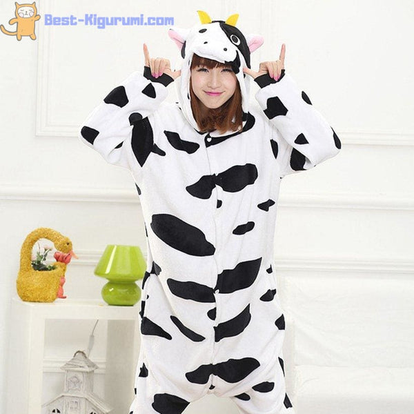 Adult Cow Onesie Pajamas | Kigurumis for Men or Women-best kigurumi