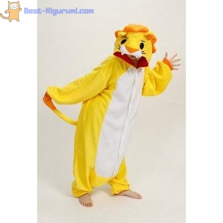 Adult Lion Onesie Pajamas | Kigurumis for Men & Women - flannel flannel animal