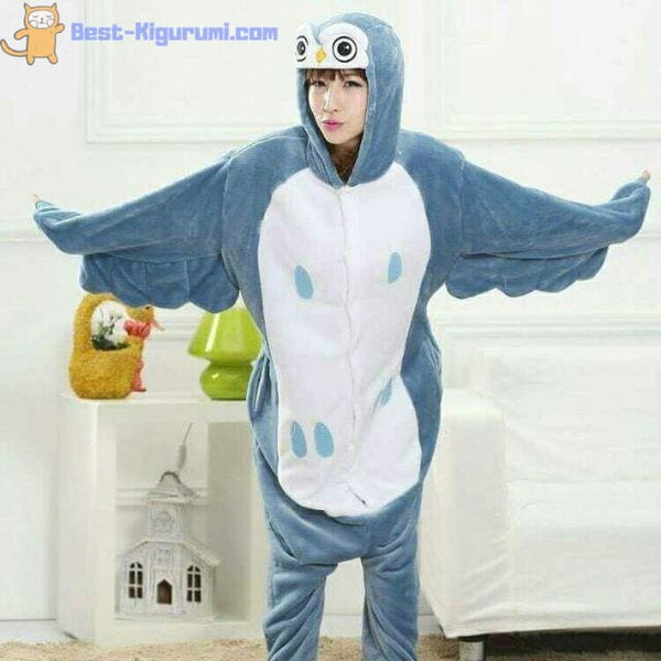 68aed94175e4 Adult Owl Onesie for Men and Women