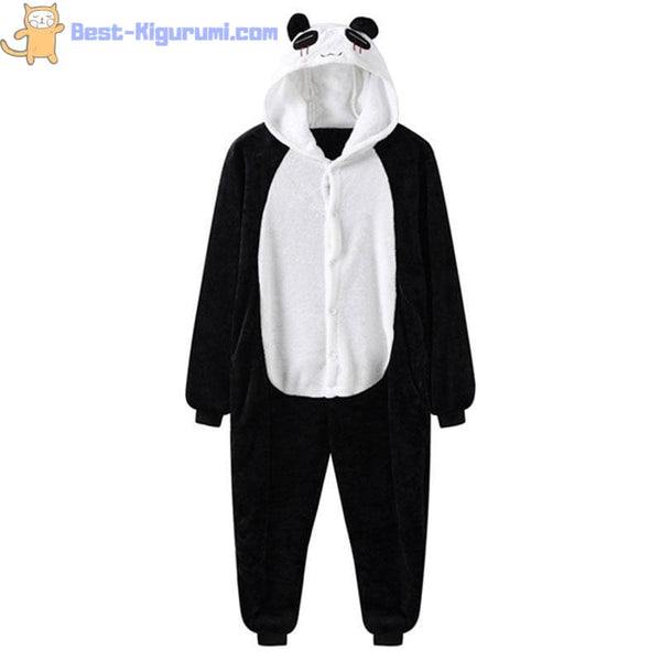 Adult Panda Onesie Pajamas | Kigurumis for Men and Women-best kigurumi