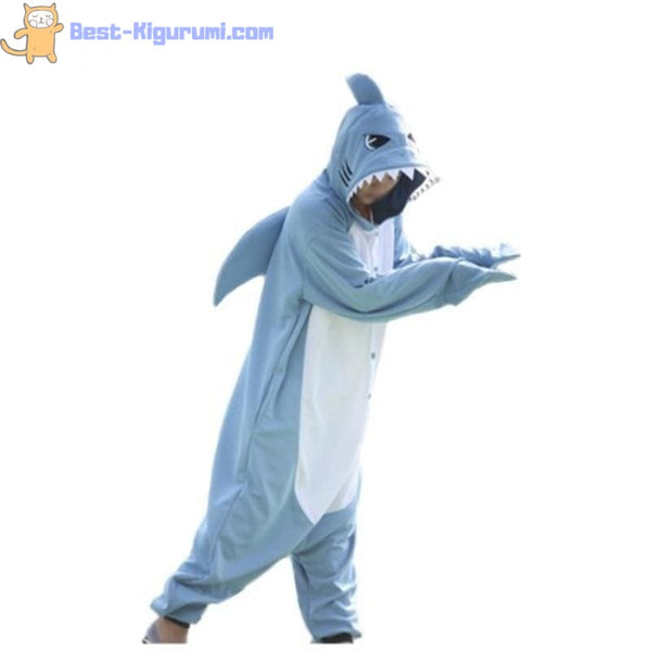 Adult Shark Onesie Pajamas | Kigu Onesies for Men or Women-bestkigurumi