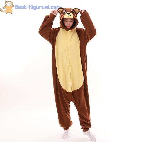 Bear Onesie for Adults | Kigurumi Style Adult Onesie Pajamas-bestkigurumi