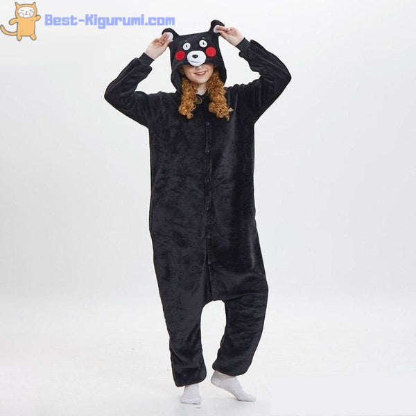Black Bear Onesies for Adults | Kigurumi Pajamas -Best Kigurumi