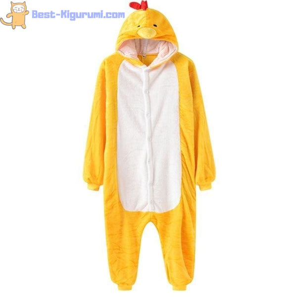 Chicken Onesie for Women & Men | Adult Kigurumi Pajamas-best kigurumi