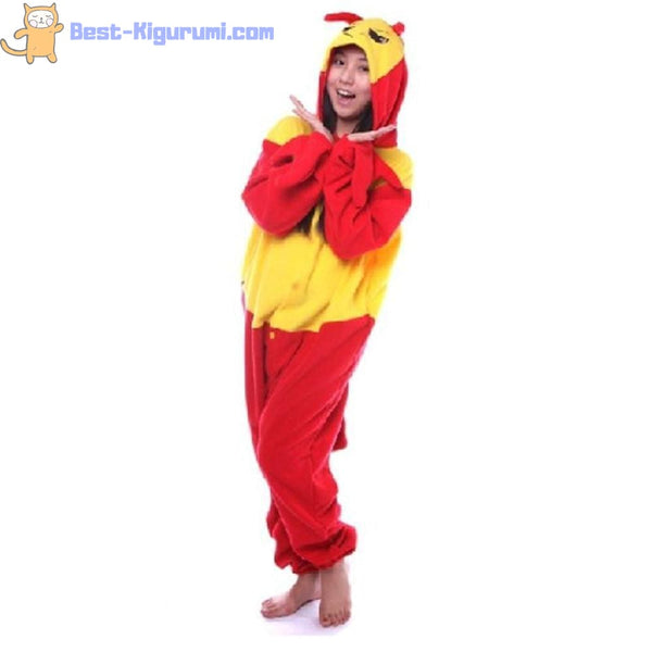 Crab Onesie for Adults | Kigurumi Style Adult Onesie Pajamas-bestkigurumi