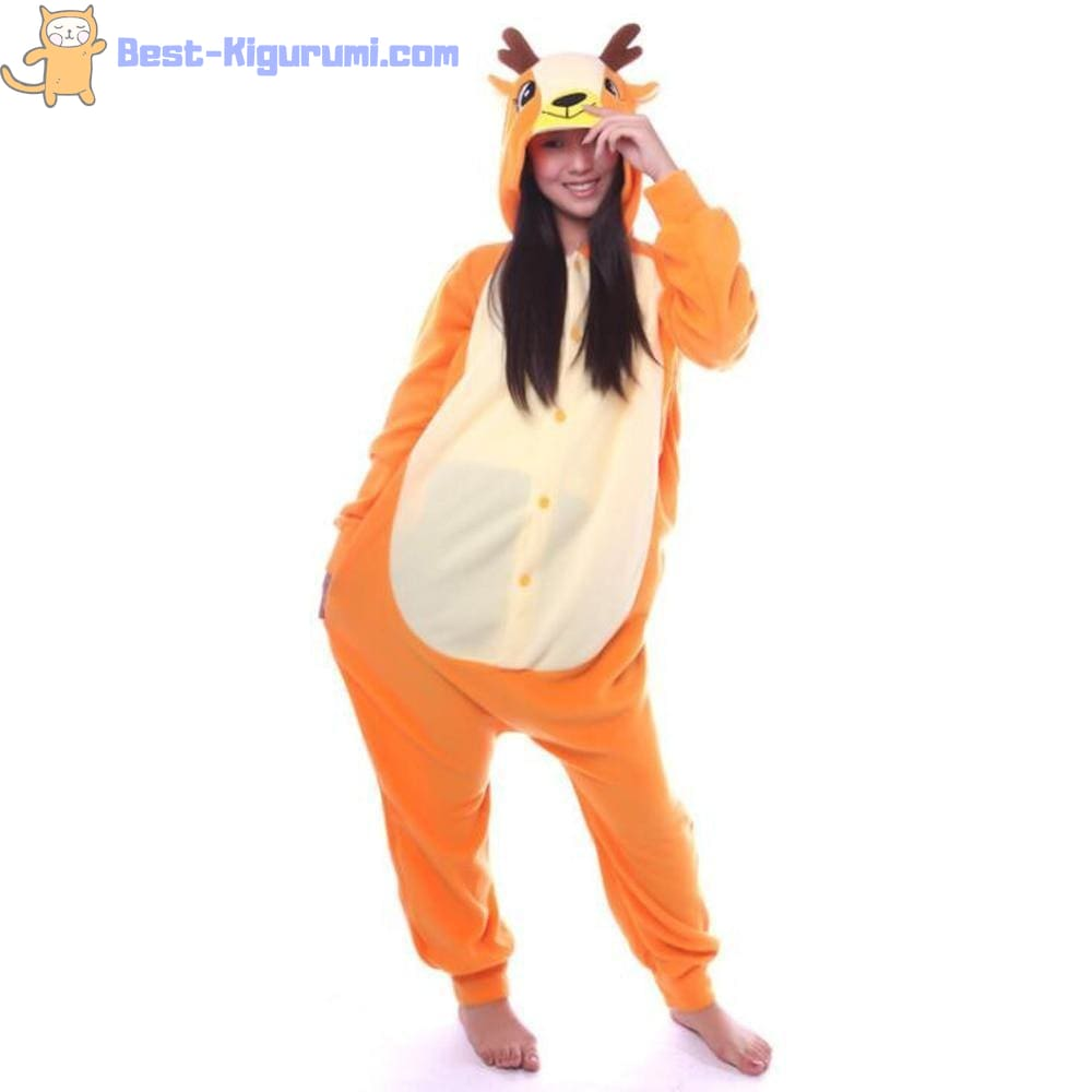 d4cdae8a1ff2 Deer Onesie for Adults