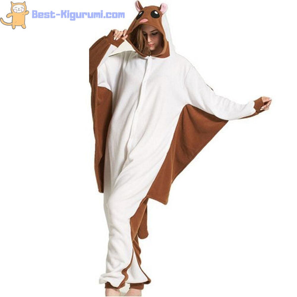 Flying Mouse Kigurumi | Kigu Inspired Adult Onesie Pajamas-bestkigurumi