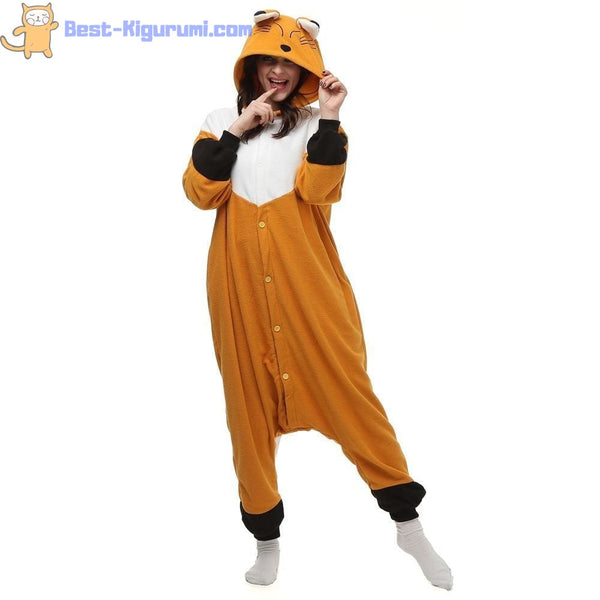 Fox Onesies for Adults | Kigurumi Style Adult Onesie Pajamas-bestkigurumi