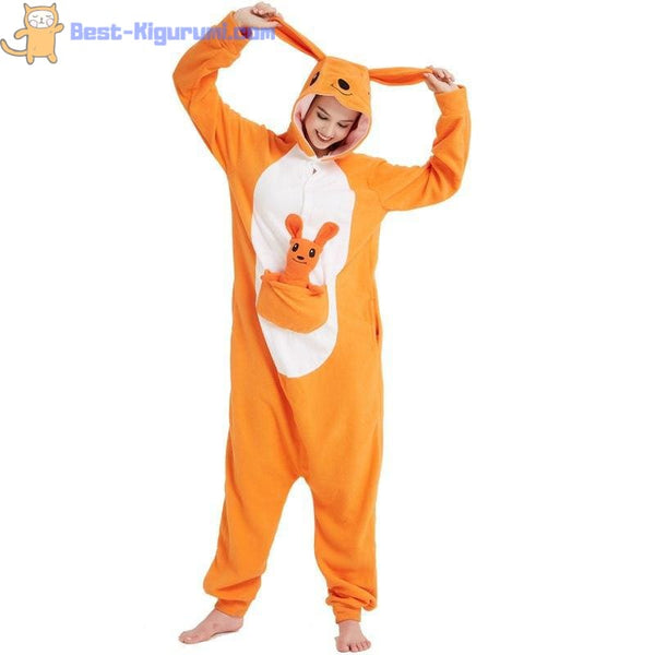 Kangaroo Onesie for Men and Women | Kangaroo Kigurumi