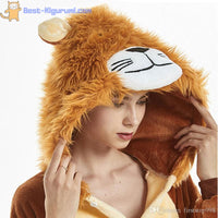 Lion Onesie for Adults | Kigurumi Pajamas for Men & Women -Best Kigurumi