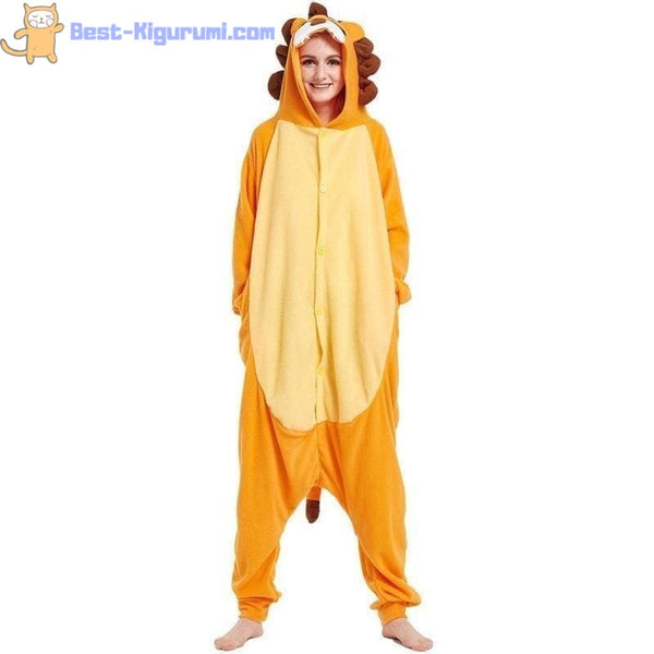 Lion Onesie Pajamas for Men & Women | Adult Kigurumis -Best Kigurumi