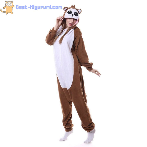 Monkey Onesie for Adults | Kigurumi Adult Onesie Pajamas-bestkigurumi