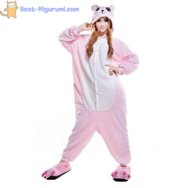 Mouse Onesie for Adults | Kigurumi Style Adult Onesie Pajamas-bestkigurumi