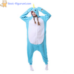 Narwhal Onesie for Adults | Kigurumi Style Adult Onesie Pajamas-bestkigurumi