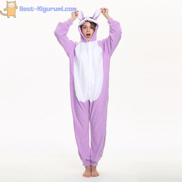 Purple Rabbit Onesie for Women and Men | Rabbit Kigurumi-best kigurumi