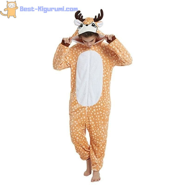Reindeer Onesie for Women & Men | Adult Kigurumis -Best Kigurumi