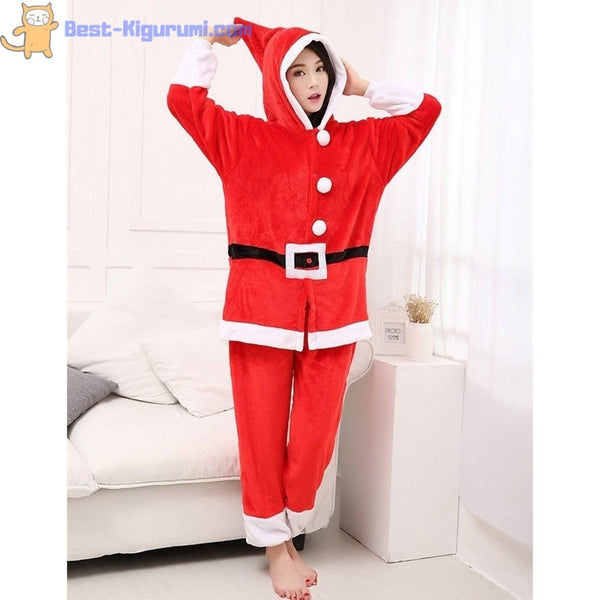 Santa Onesie Pajamas for Adults