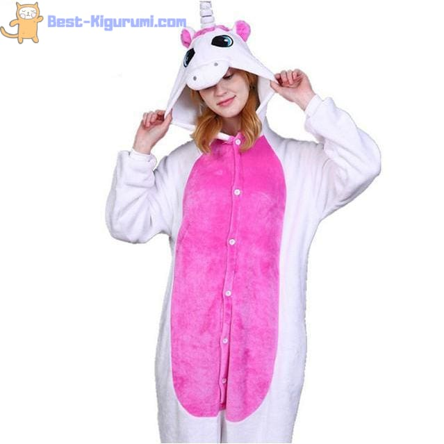 997e6a177 Unicorn Onesie for Adults | Pink or Blue Unicorn Kigurumis