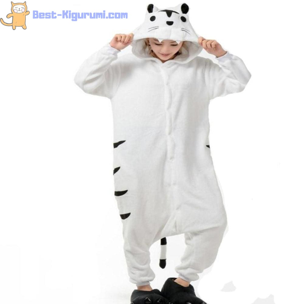 Useful question white tiger onesie